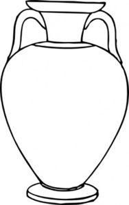 188x299 Real White Vase Clipart