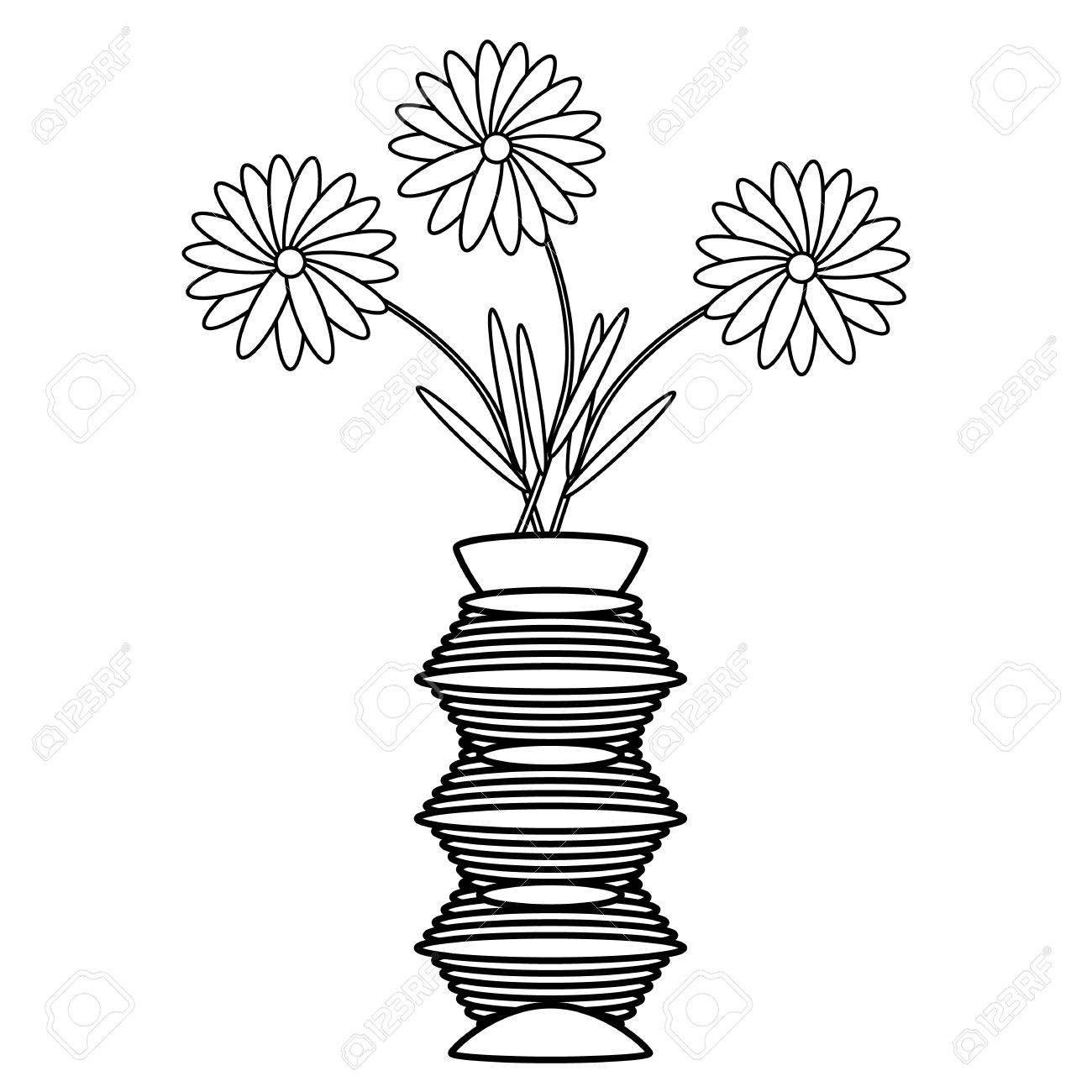 1300x1300 Vase Clipart Black And White. Vase Clipart Black And White Free