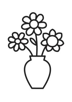 236x333 Vase Clipart Coloring Page