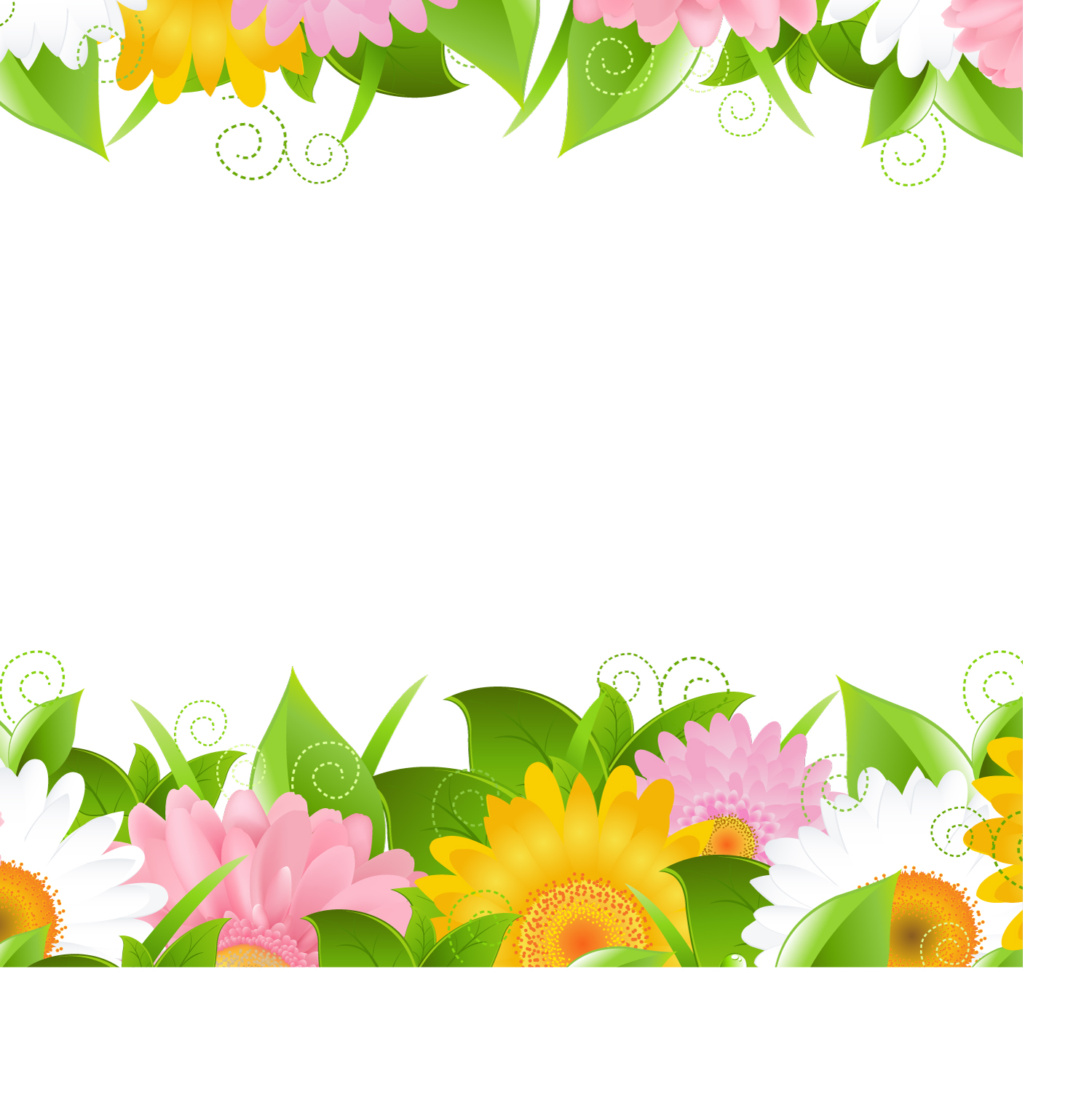 1500x1515 Flowers Petals Lace Background 02 Vector Free Vector 4vector