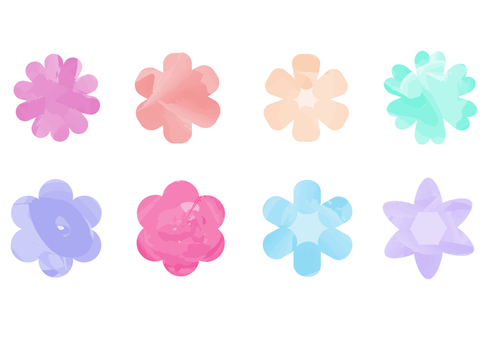 700x490 Watercolor Flower Free Vector Art 8,557 Free Amp Beautiful Files