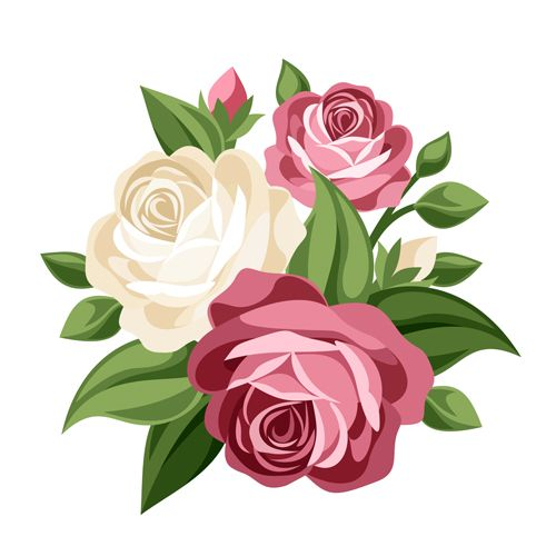 500x500 Best Vector Flowers Ideas Vectors, Rose Doodle