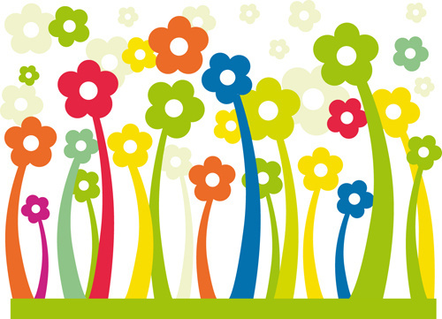 500x361 Cartoon Flower Png Free Vector Download (84,719 Free Vector)