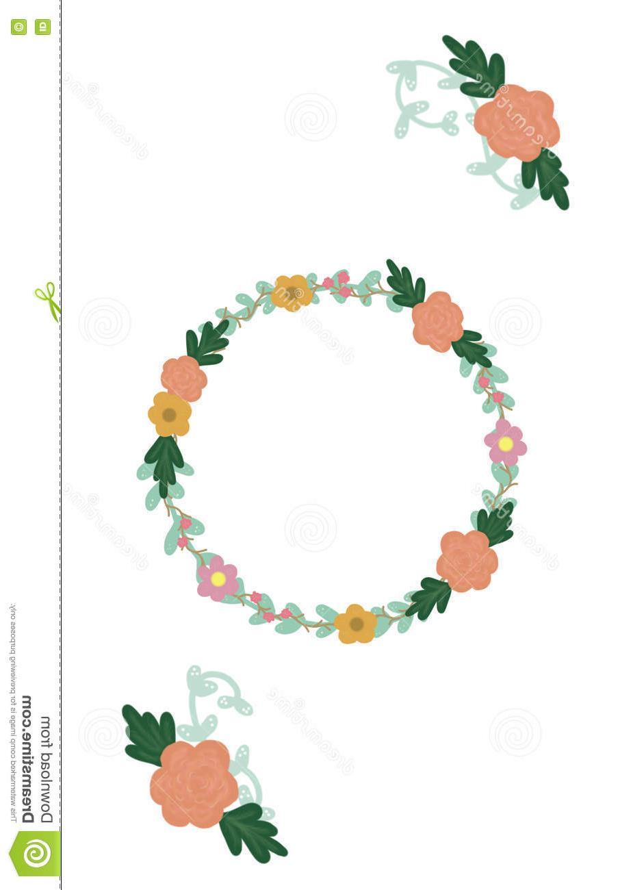 903x1300 Top 10 Hand Drawn Floral Wreath Vector Flower Vine Designs Rustic