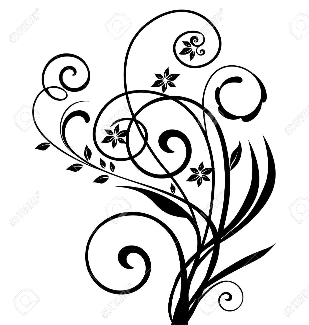 1235x1300 Vine Clipart Floral Design