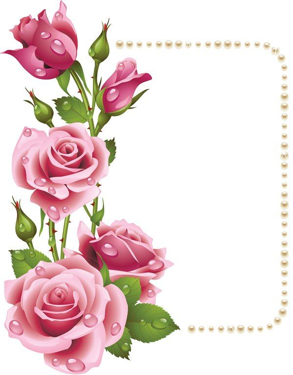 600x768 Way Of The Roses Clipart