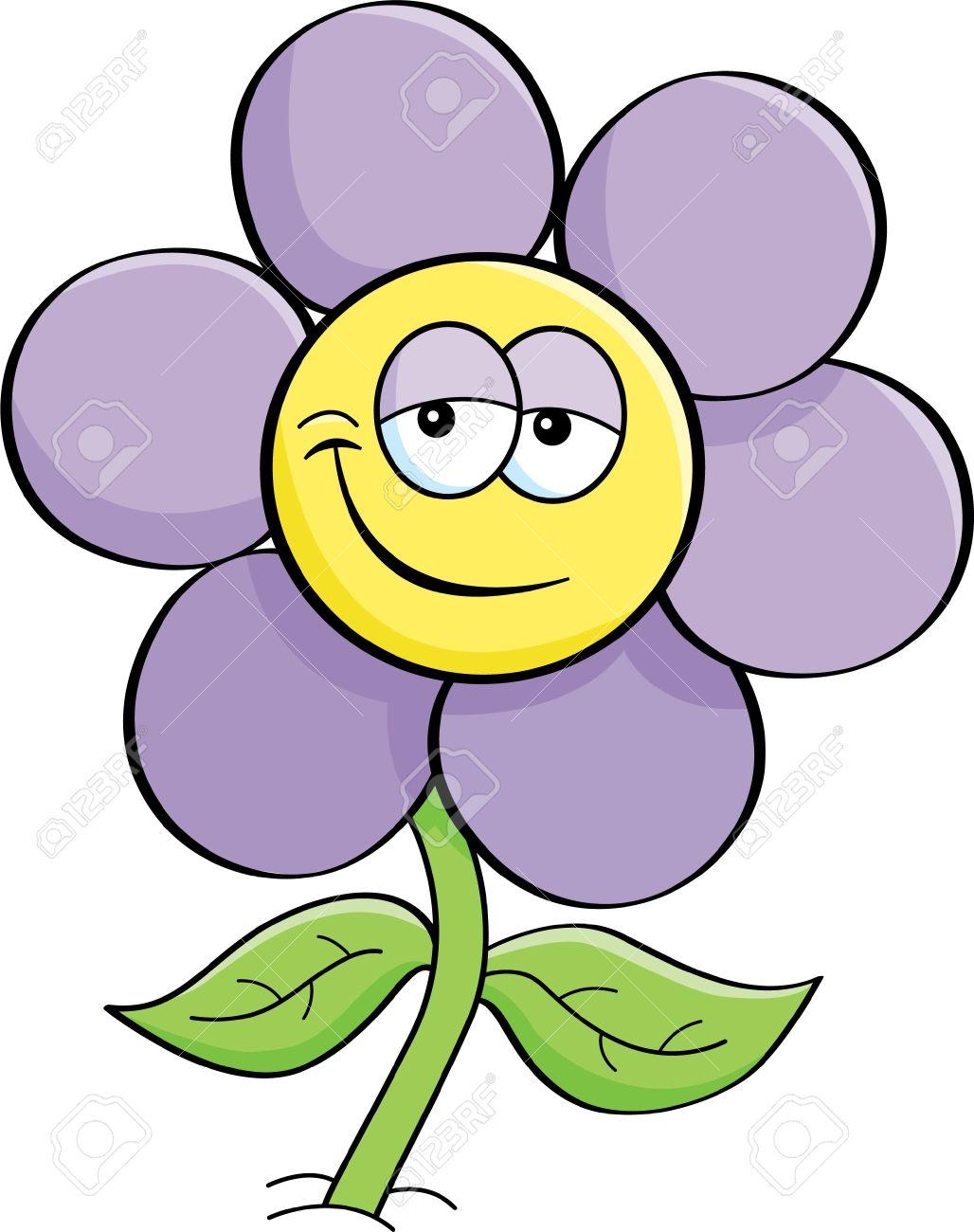 1028x1300 Purple Flower Clipart Cartoon
