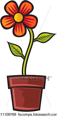 230x470 Flower Pot Clip Art Royalty Free. 10,808 Flower Pot Clipart Vector