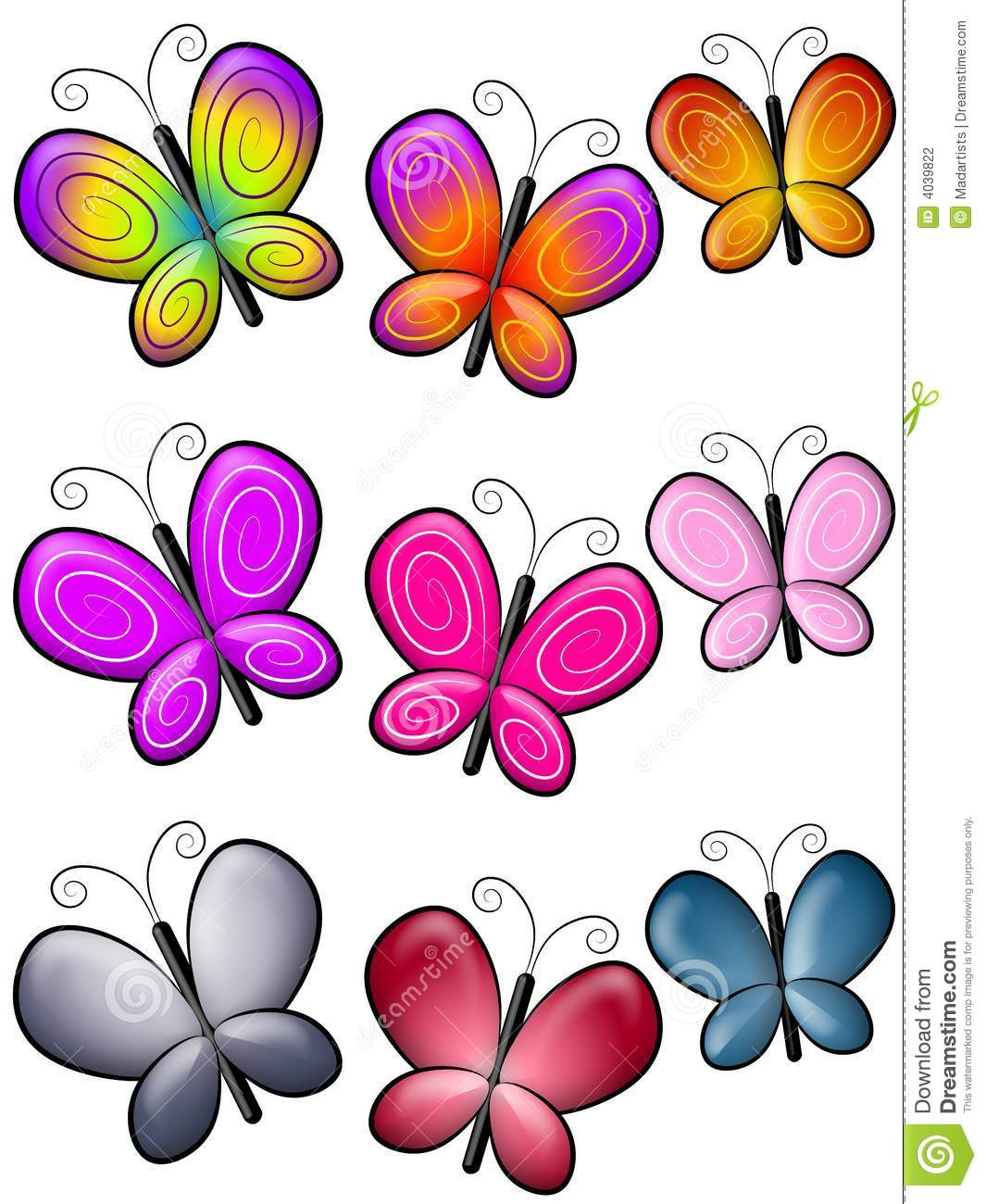1065x1300 Butterflies Pictures From Clipart