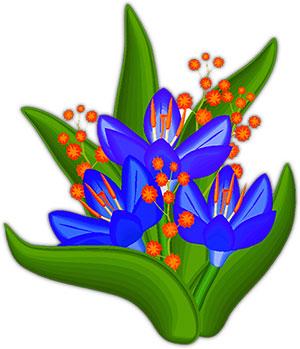 300x349 Free Flowers