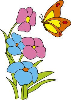 236x330 Imagen Relacionada Mariposas Y Flores Butterfly