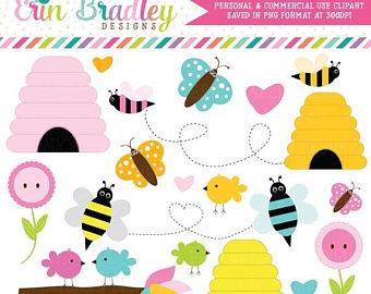 340x270 Bee Clipart Etsy