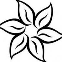 200x200 Lotus Flower Clip Art