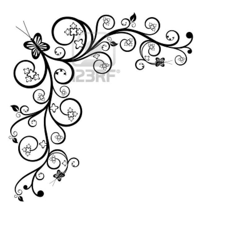 736x736 Border Drawings Clip Art