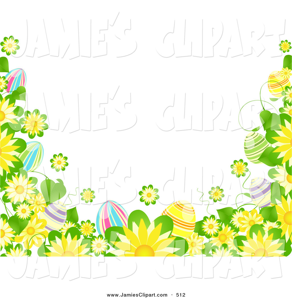 1024x1044 Clip Art Of A Solid White Background Bordered By Yellow Flowers