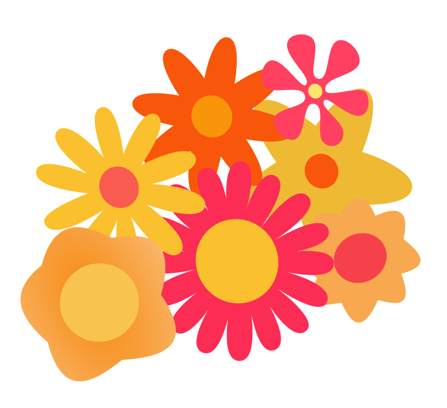 Flowers cartoon pictures free download best flowers cartoon 900x822 orange flower clipart cartoon vector mightylinksfo
