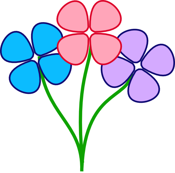 600x594 Flower Clipart Pretty Flower