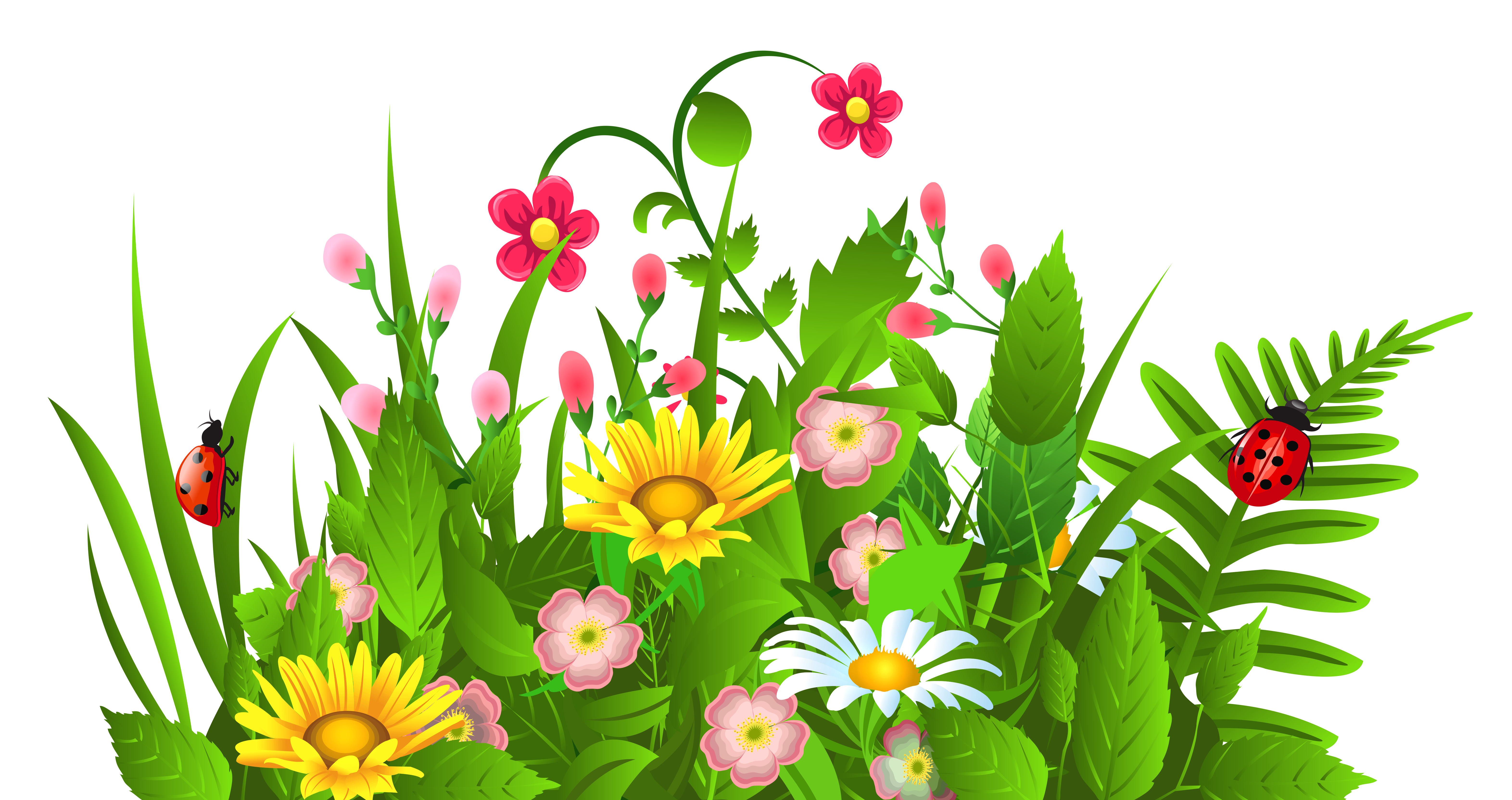 Flowers clipart free download best flowers clipart on clipartmag 6287x3328 flowers clip art free clipart images clipartwiz 2 mightylinksfo