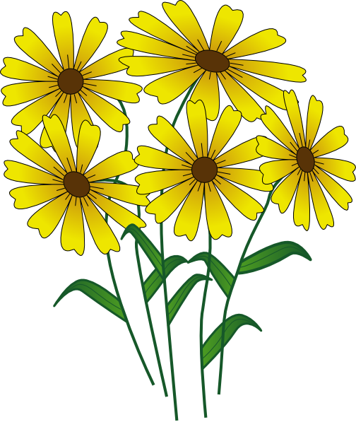 504x597 Best Spring Flowers Clip Art