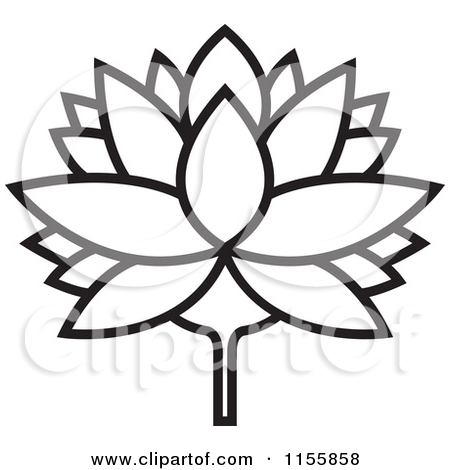 450x470 Water Lily Border Clipart