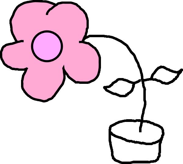 600x538 Kids Flower Clip Art