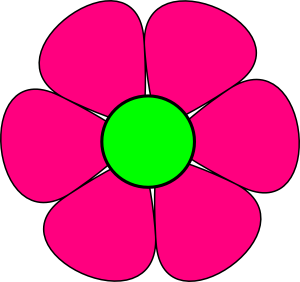 600x564 Flower Clipart Free Clipart Images 2
