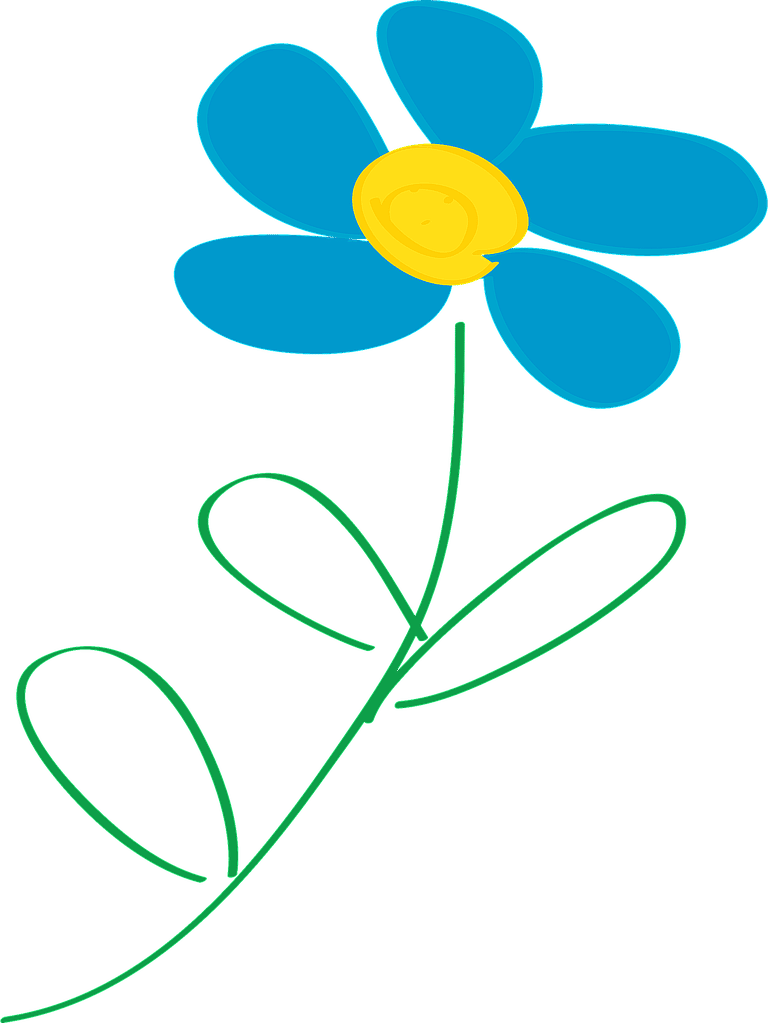 768x1023 Flowers 8 Great Places To Find Free Flower Clip Art