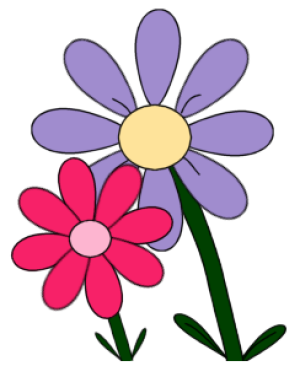300x366 Flowers Free Flower Clip Art For All Your Projects
