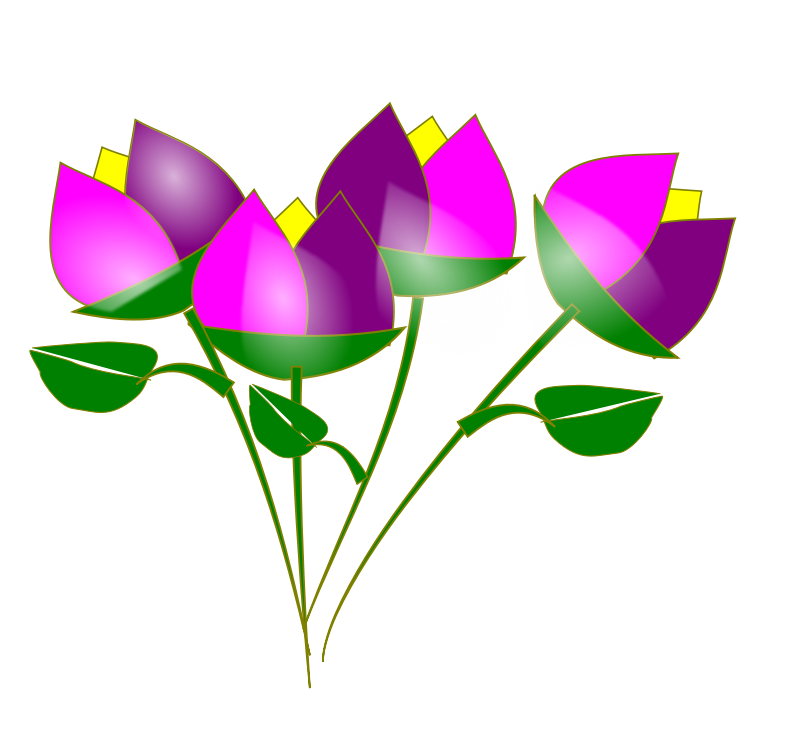 800x735 Free To Use Amp Public Domain Flowers Clip Art