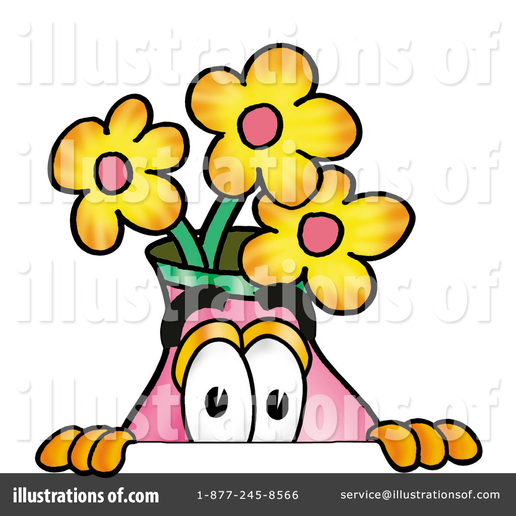 1024x1024 Vase Of Flowers Clipart