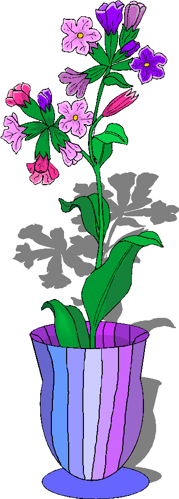 352x978 Vase Clipart Flower Basket