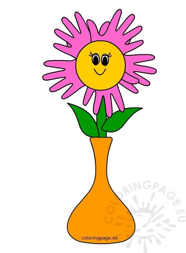 595x808 Vase Clipart Mothers Day Flower