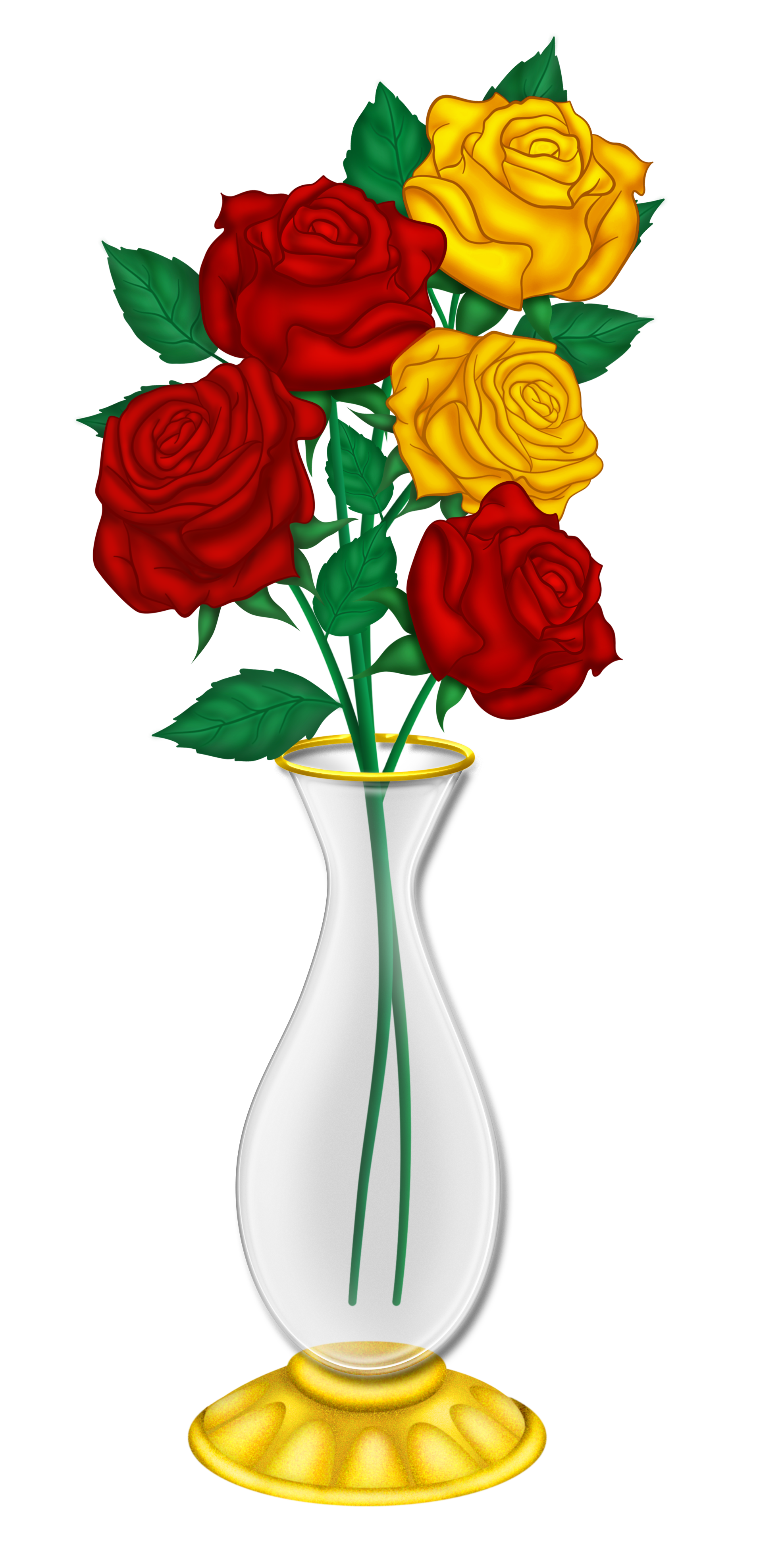 1912x3952 Vase Clipart Transparent