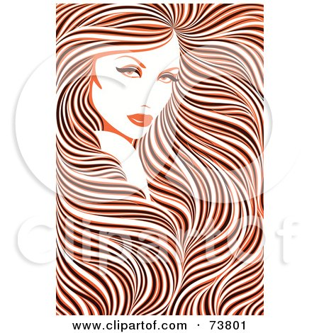450x470 Royalty Free (Rf) Clipart Illustration Of A Stunning Woman