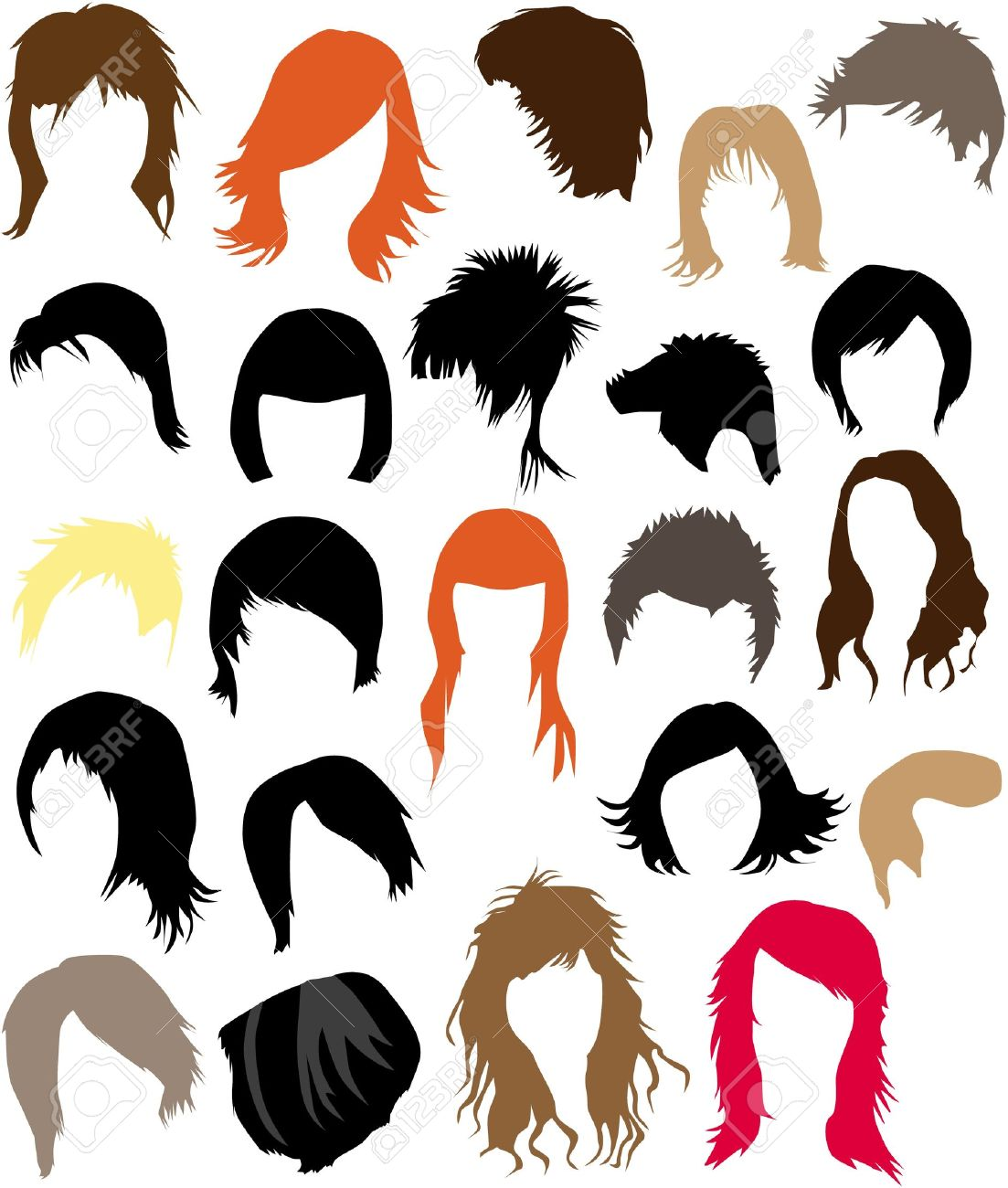 1103x1300 Hair Clipart Man Vector