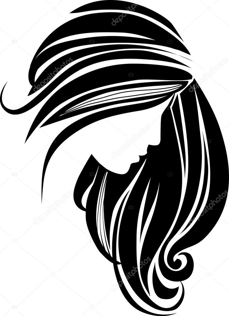 743x1024 Graphics For Hair Vector Graphics