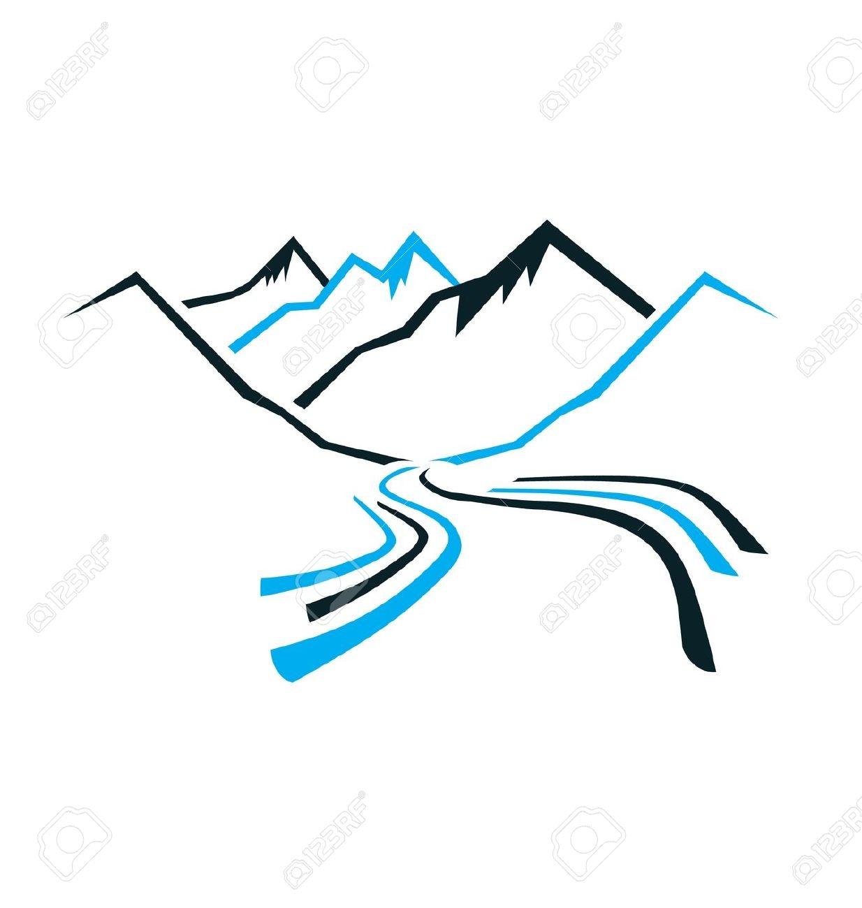 1234x1300 Mountain River Clipart Free Eclip Art
