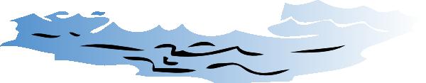 600x117 River Water Clip Art