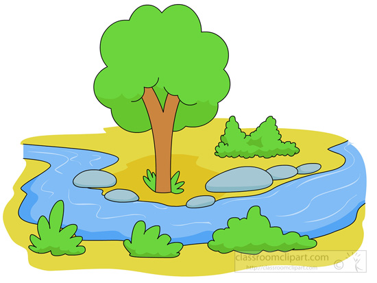 550x413 The Flow Of The River Clipart Clipground In Flowing Stream