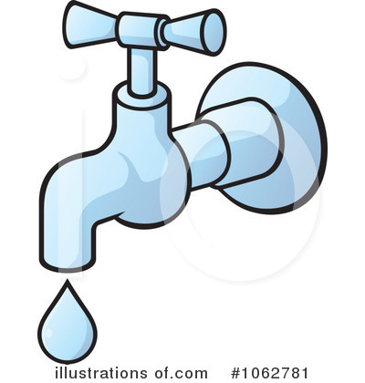 400x420 Running Tap Water Clipart