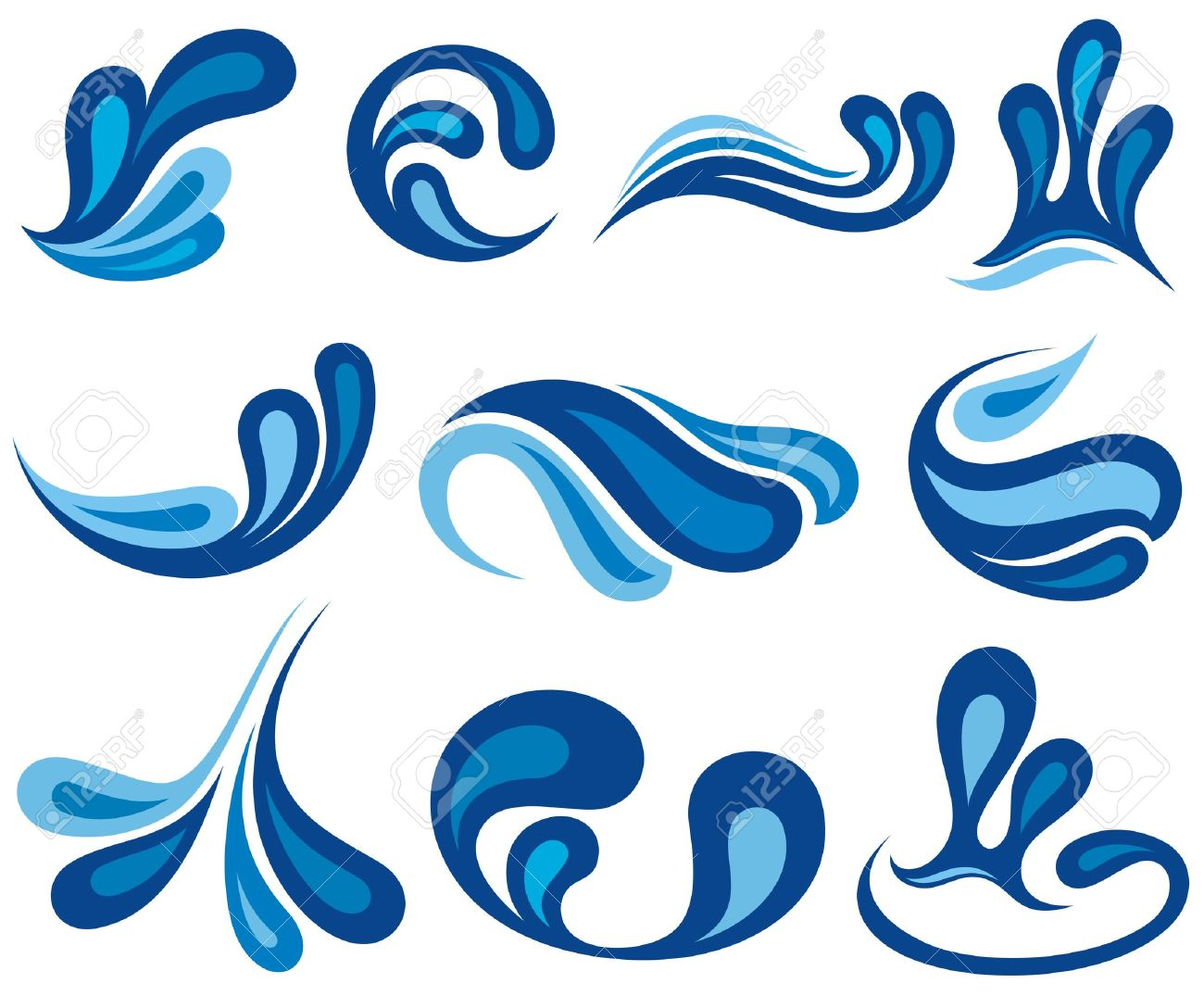 1300x1075 Splash Water Drops Royalty Free Cliparts, Vectors, And Stock