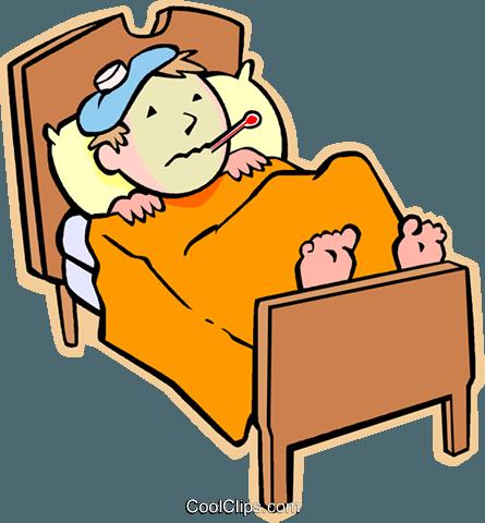 445x480 Sick Clipart Flu