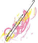 151x170 Flute Clip Art