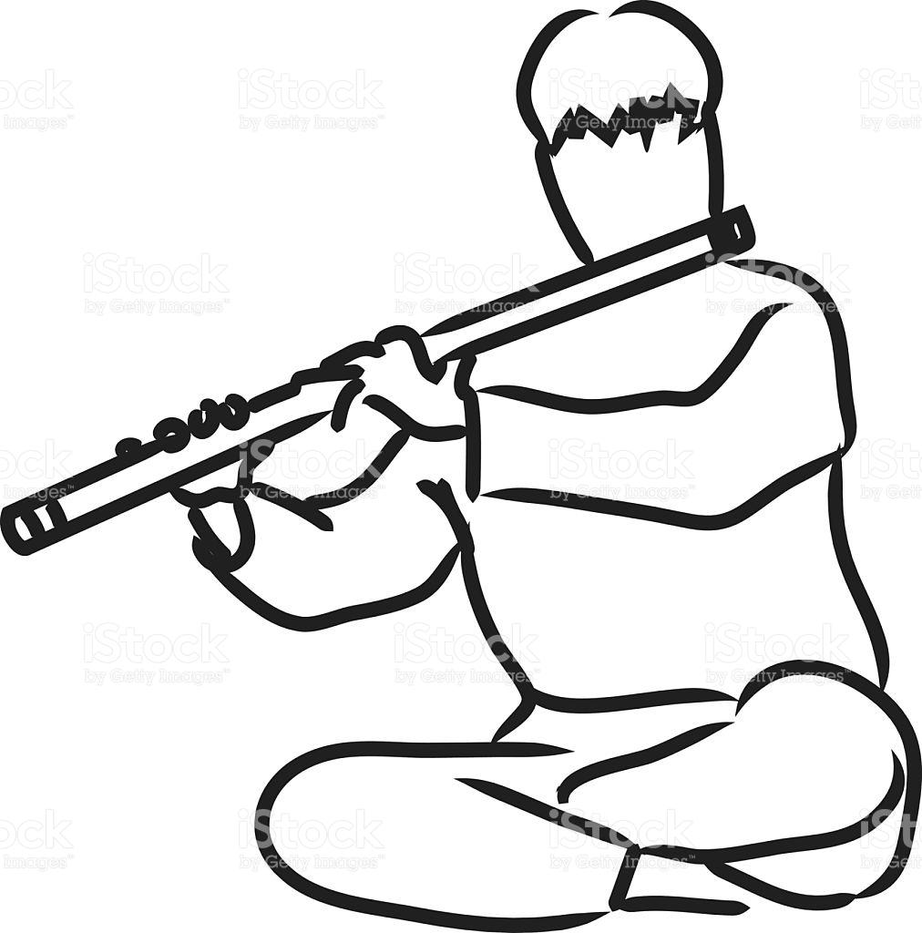 1012x1024 Flute Clipart Indian Flute