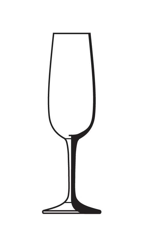 509x789 Clipart Flute Champagne