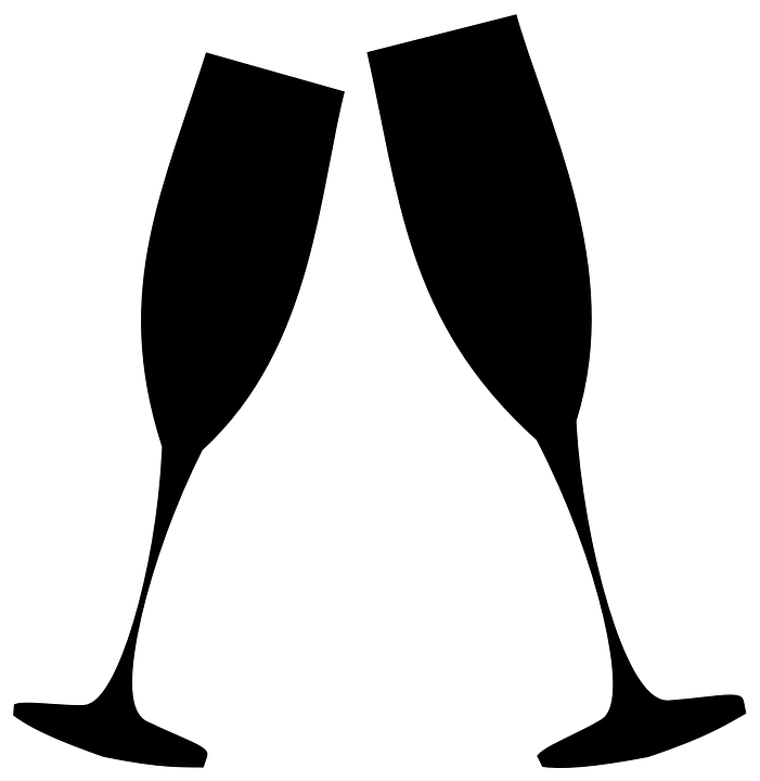 701x720 Champagne Clipart Vector