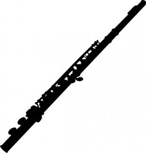 286x300 Flute Silhouette Clip Art Download