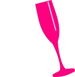 288x298 Flute Clipart Pink Champagne