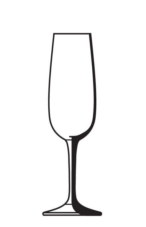 509x789 Champagne Glass Clip Art