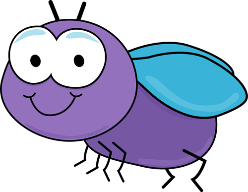 500x387 Cute Fly Clip Art